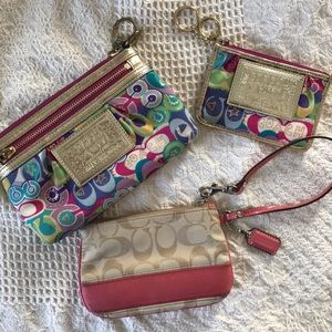 Coach | Poppy Wristlet Set